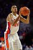 Florida Gators forward Kerry Blackshear Jr. (24) as the #6 Florida Gators mens basketball team hosted the Florida State Seminoles at Exacteh Arena in Gainesville, Florida.  November 10th, 2019. Gator Country Photo by David Bowie.