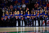 The Dazzlers perform during the second half as the #6 Florida Gators mens basketball team hosted the Florida State Seminoles at Exacteh Arena in Gainesville, Florida.  November 10th, 2019. Gator Country Photo by David Bowie.