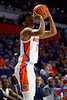 Florida Gators guard Tre Mann (1) during the second half as the #6 Florida Gators mens basketball team hosted the Florida State Seminoles at Exacteh Arena in Gainesville, Florida.  November 10th, 2019. Gator Country Photo by David Bowie.