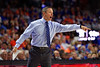 Florida Gators head coach Mike White as the #6 Florida Gators mens basketball team hosted the Florida State Seminoles at Exacteh Arena in Gainesville, Florida.  November 10th, 2019. Gator Country Photo by David Bowie.