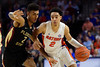 Florida Gators guard Andrew Nembhard (2) as the #6 Florida Gators mens basketball team hosted the Florida State Seminoles at Exacteh Arena in Gainesville, Florida.  November 10th, 2019. Gator Country Photo by David Bowie.