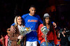 Florida Gators forward Kerry Blackshear Jr. (24) during senior day ceremonies as the Florida Gators mens basketball team hosted the Kentucky Wildcats at Exacteh Arena in Gainesville, Florida.  March 7th, 2020. Gator Country Photo by David Bowie.