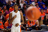 Florida Gators guard Scottie Lewis (23) during pregame as The Florida Gators mens basketball team hosted the Kentucky Wildcats at Exacteh Arena in Gainesville, Florida.  March 7th, 2020. Gator Country Photo by David Bowie.