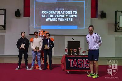 Boys Soccer Award Winners