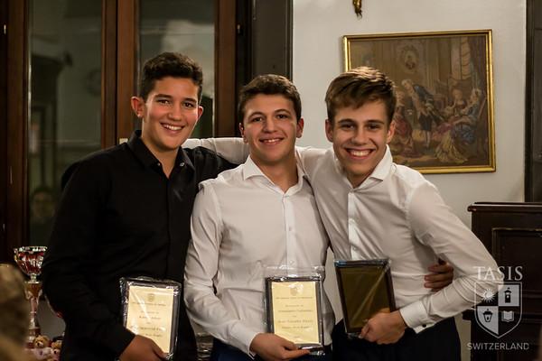 TASIS 2019 Fall Sports Award Winners