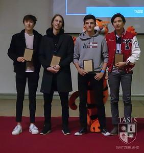 Boys Volleyball Award Winners