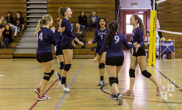TASIS Hosts 2019 NISSA Girls Volleyball Tournament