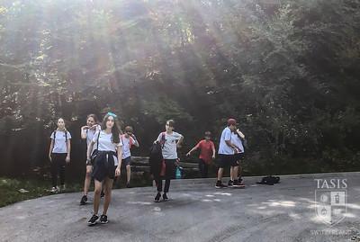 Seventh grade explore Monte Tamaro
