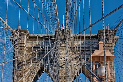 Walking the Brooklyn Bridge PSA Score 9- Gary Emord