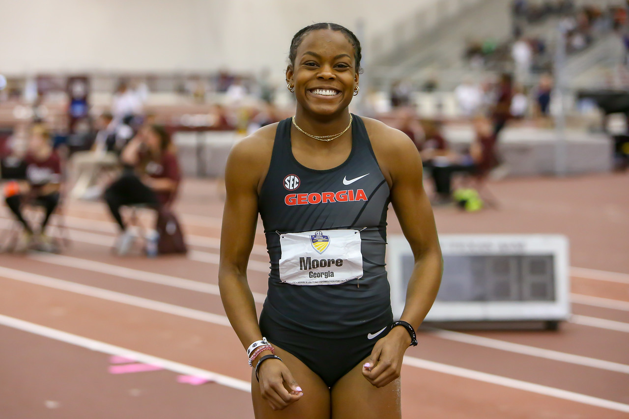 Jasmine Moore   (Photo: Georgia Sports Communications)
