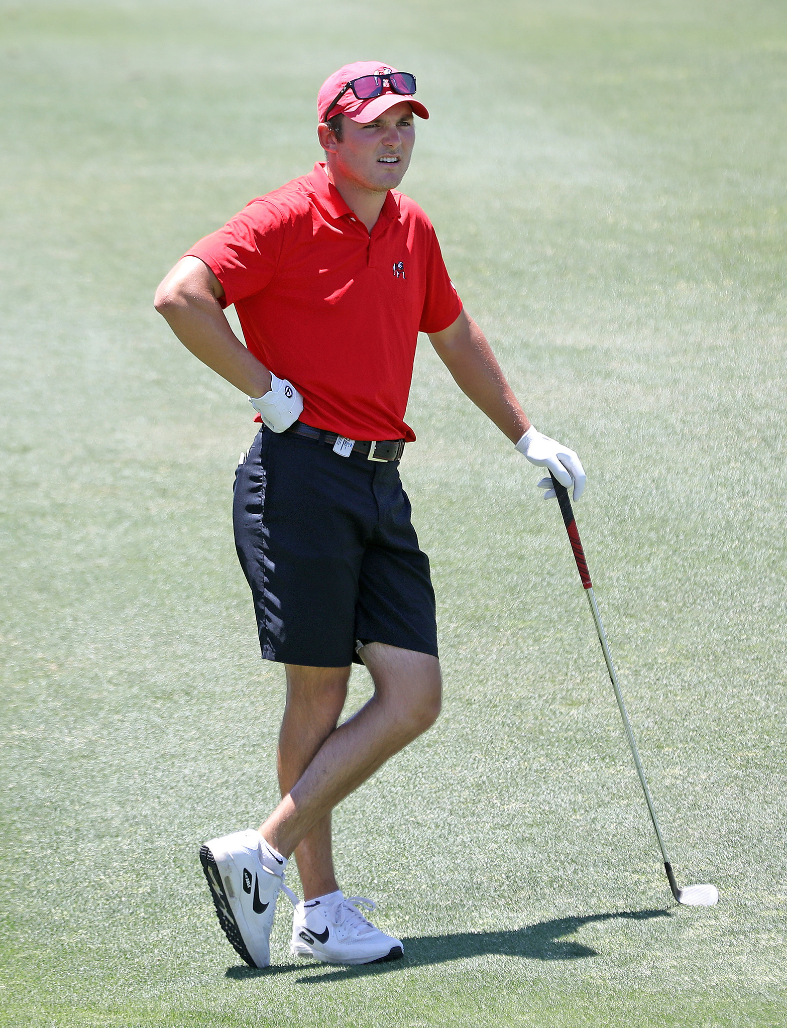 Georgia's Trent Phillips during the third round of the NCAA Championships at Grayhawk Golf Club in Scottsdale, Ariz., on Sunday, May 30, 2021. (Photo by Steven Colquitt)