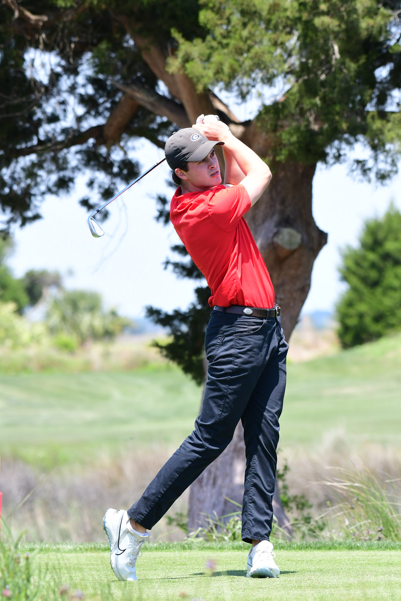 The Georgia men's golf team competed in the 2021 SEC Golf Championships, held on Sea Island's Seaside course on St. Simons Island, GA, April 21-25, 2021. Photo credit Perry McIntyre.