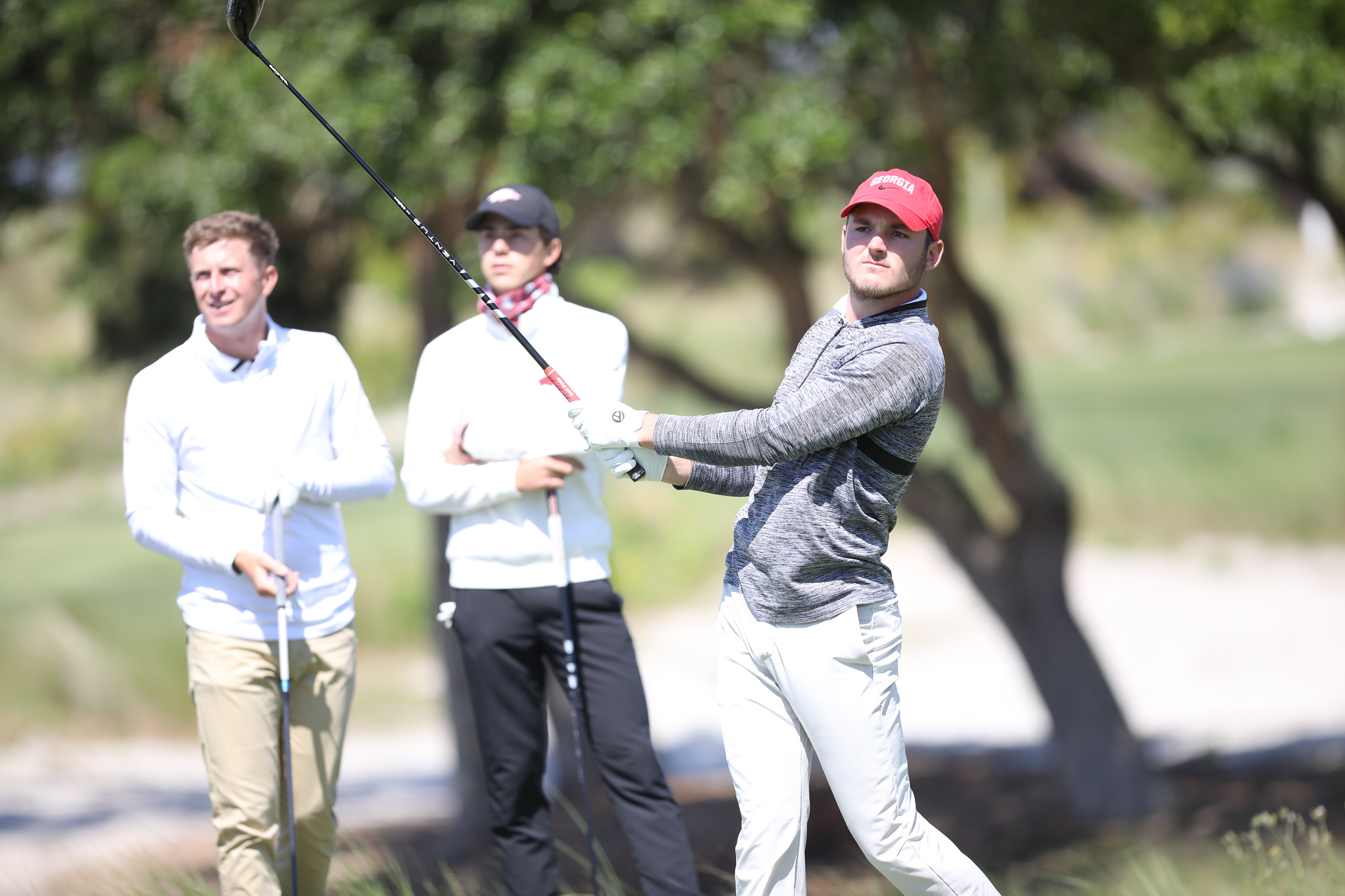 Georgia during the second round of the SEC Championship at Sea Island Golf Club on St. Simons Island, Ga., on Thursday, April 22, 2021. (Photo by Steven Colquitt)