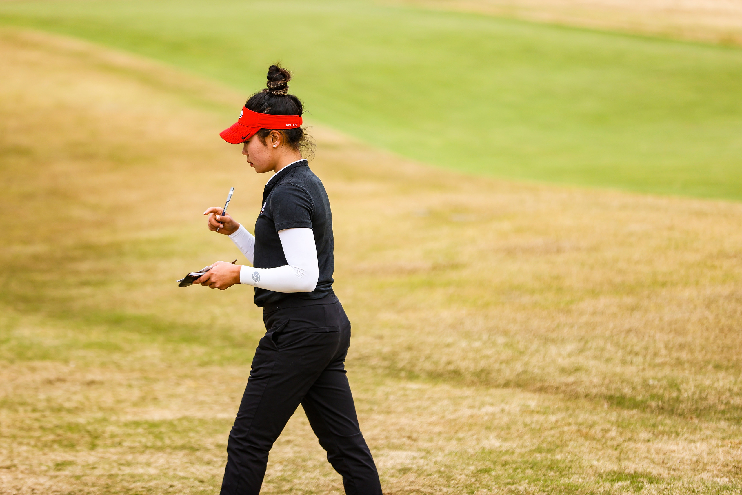 Georgia golfer Jo Hua Hung during the Liz Murphey Collegiate Classic at the UGA Golf Course in Athens, Ga., on Sunday, March 21, 2021. (Photo by Tony Walsh)