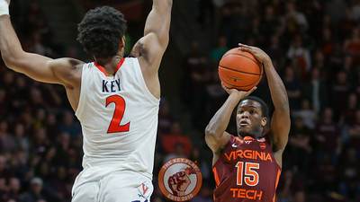 Jalen Cone attempts a three point shot in the second half. (Mark Umansky/TheKeyPlay.com)