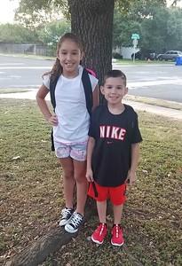 Kaden & Jordynn | 2nd grade & 3rd grade | Camacho Elementary
