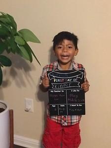 Adrian Roberto | Kindergarten | Rutledge Elementary