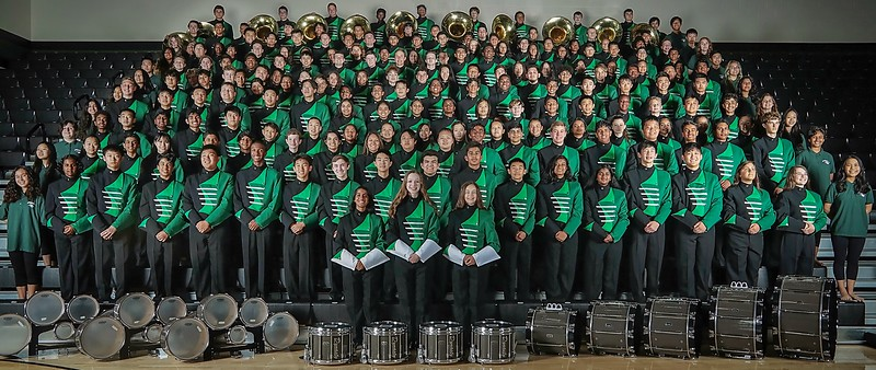 2019-2020 Jasper High School Marching Band (cropped)
