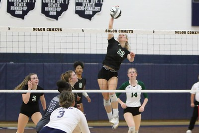 20191026 Volleyball District Final Solon v Nordonia
