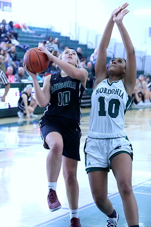 20191228 - JV Ladies Basketball Aurora v Nordonia