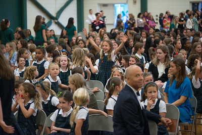 Greenwich Academy Seniors first day of school Sept. 3, 2019. Photographer: Tiffany Hagler-Geard