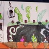 """""""Witch's Den"""" Sophia Crowell, first grade, Parkwood Elementary"""