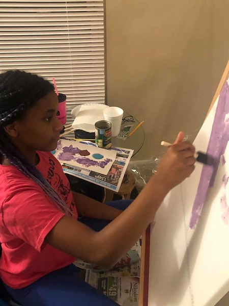 Chanell B., third grade, Parkwood Elementary