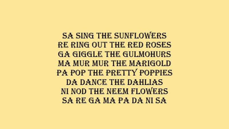 SA SING THE SUNFLOWERS