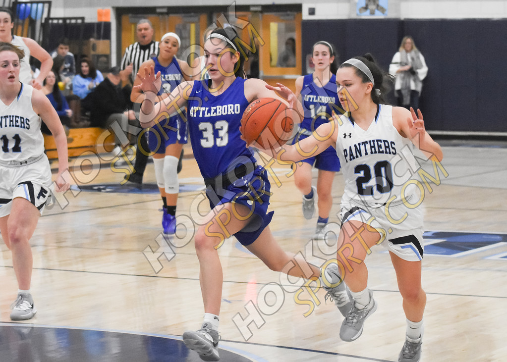 FHS Erin Quaile playing defense