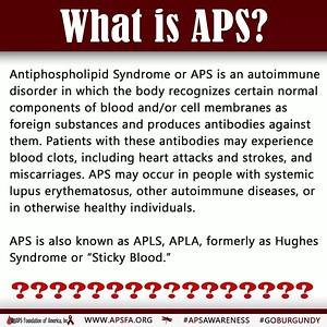 APS Awareness Month.- Day 1
