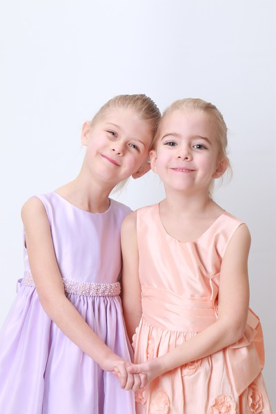 Alexandria and Naomi 5.75 years old