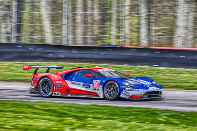 2019 Acura Sports Car Challenge at Mid-Ohio - Sebastien Bourdais and Dirk Miller in the #66 Ford GT - Ford Chip Ganassi Racing
