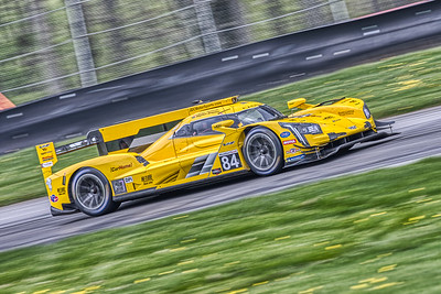 2019 Acura Sports Car Challenge at Mid-Ohio - Stephen Simpson and Simon Trummer in the #84 Cadillac DPi - JDC-Miller Motorsports