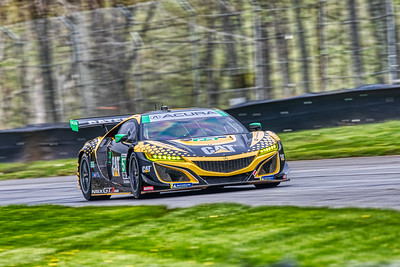 2019 Acura Sports Car Challenge at Mid-Ohio - Katherine Legge and Christina Nielsen in the #57 Acura NSX GT3 - Meyer Shank Racing w/ Curb-Agajanian