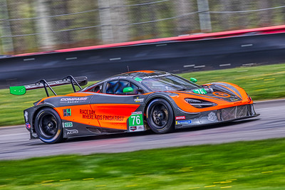 2019 Acura Sports Car Challenge at Mid-Ohio - Paul Holten and Matt Plumb in the #76 McLaen 720S GT3 - Compass Racing