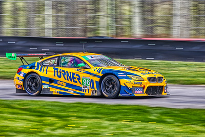 2019 Acura Sports Car Challenge at Mid-Ohio - Bill Auberlen and Robby Foley in the #96 BMW M6 GT3 - Turner Motorsport