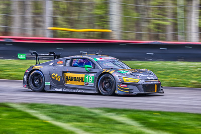 2019 Acura Sports Car Challenge at Mid-Ohio -  Alex Riberas and Will Hardeman in the #19 Audi R8 LMS GT3 - Moorespeed