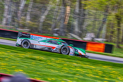 2019 Acura Sports Car Challenge at Mid-Ohio - Will Owen and Kyle Kaiser in the #50 Cadillac DPi - Juncos Racing