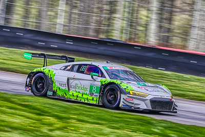 2019 Acura Sports Car Challenge at Mid-Ohio - Ryan Dalzal and Parker Chase in the #8 Audi R8 LMS GT3 - Starworks Motorsport