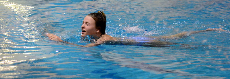 Thompson Valley diver Ryley Williams (Mike Brohard/Loveland Reporter-Herald)
