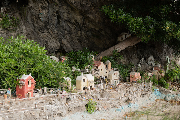 Fornillo Cave, Positano