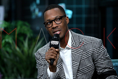 """New York, NY - December 12:  Corey Hawkins at the BUILD Speaker Series: Discussing the new film """"6 Underground"""", New York, USA"""