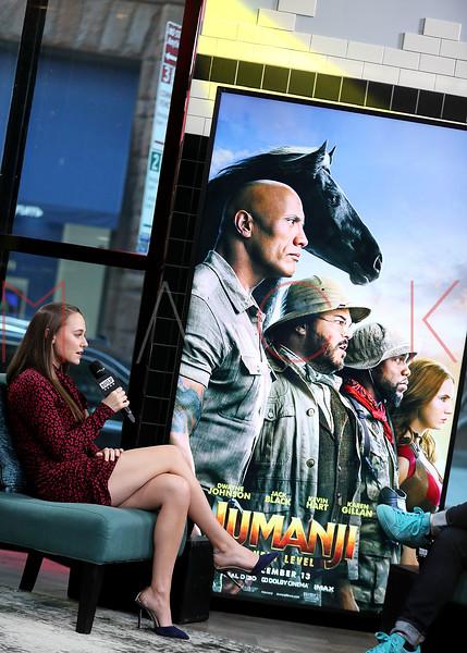 "BUILD Speaker Series: Discussing the new film ""Jumanji: The Next Level"", New York, USA"