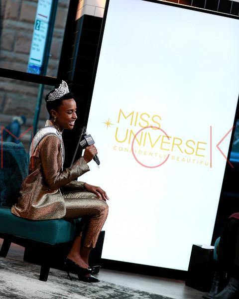 Miss Universe, Zozibini Tunzi visits BUILD Series, New York, USA