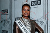 Miss Universe, Zozibini Tunzi visits BUILD Series, New York, USA