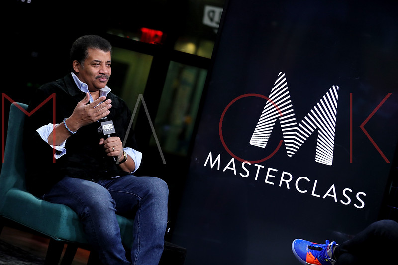 Neil deGrasse Tyson visits the BUILD Speaker Series, New York, USA