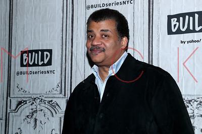 New York, NY - December 19:  Neil deGrasse Tyson visits the BUILD Speaker Series.