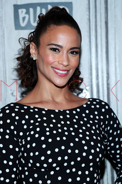 """Paula Patton visits BUILD Speaker Series: Discussing the Legal Thriller Movie """"Sacrifice"""" For BET+ , New York, USA"""