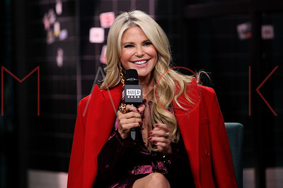 """New York, NY - January 29:  BUILD Series Presents Christie Brinkley discussing """"Milestones of Me"""" Campaign at BUILD Studio."""