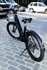 Talk-show host Andy Cohen takes a spin with BUZZ E-Bikes, New York, USA